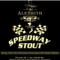 AleSmith Brewing Company Speedway Stout - Rye Barrel Aged: Vietnamese
