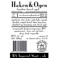 Brouwerij De Molen Haken & Ogen (Bourbon Barrel Aged)