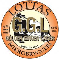 Lottas Mikrobryggeri (Björkstadens Bryggeri) Björkstadens G.G.L Golden Ginger Lager