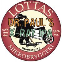 Lottas Mikrobryggeri (Björkstadens Bryggeri) Dr. Paul's X-Ray IPA