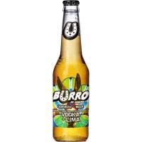 Cervezas La Sagra Burro de Sancho Vodka y Lima
