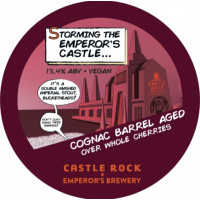 Castle Rock Brewery Storming The Emperor's Castle Cognac and Cherry