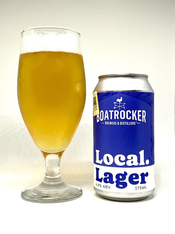 Boatrocker Brewing Company Local Lager