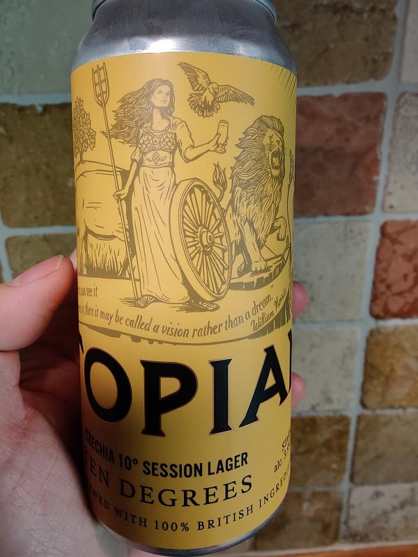 Utopian Brewing Ten Degrees