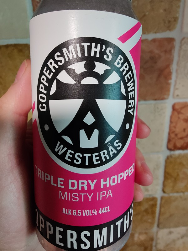 Coppersmith's Brewery Triple Dry Hopped Misty IPA